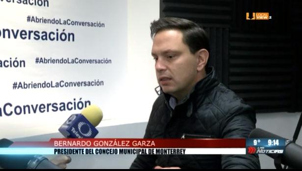#Entrevista a Bernardo González, Presidente del Concejo Municipal de Monterrey