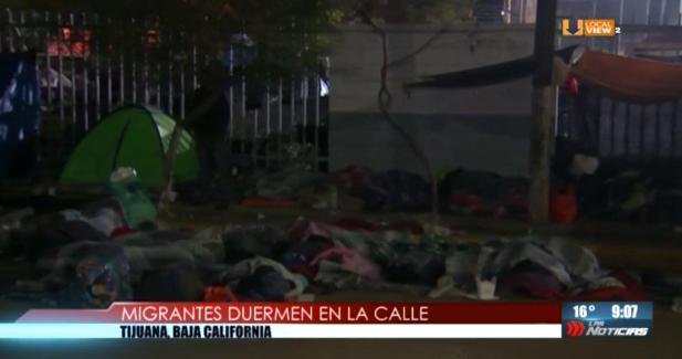 Algunos migrantes que llegaron hasta Tijuana ya optaron por regresar a su país de origen