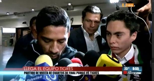 Tigres ya está concentrado en la Ciudad de México para el partido de vuelta de cuartos de final. Usted podrá verlo mañana domingo a través de Televisa Monterrey