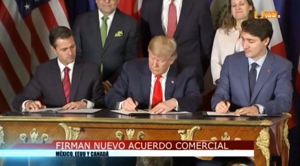 Peña Nieto logró firmar el T-MEC en el último día de su mandato