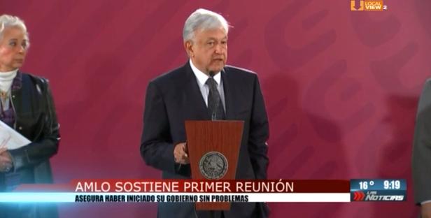 El #NAIM, Presupuesto 2019 y Ayotzinapa, fueron algunos de los temas en la primera conferencia de prensa del Presidente de México