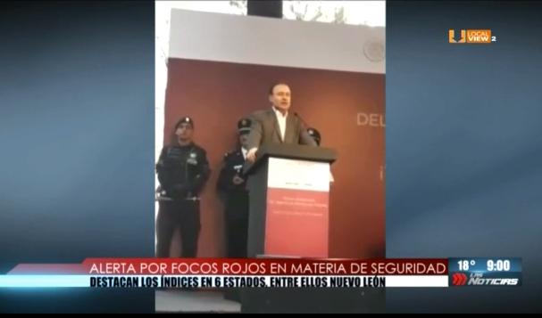 """Nuevo León es uno de los """"focos rojos"""" del país, dice el Secretario de Seguridad del nuevo gobierno federal"""