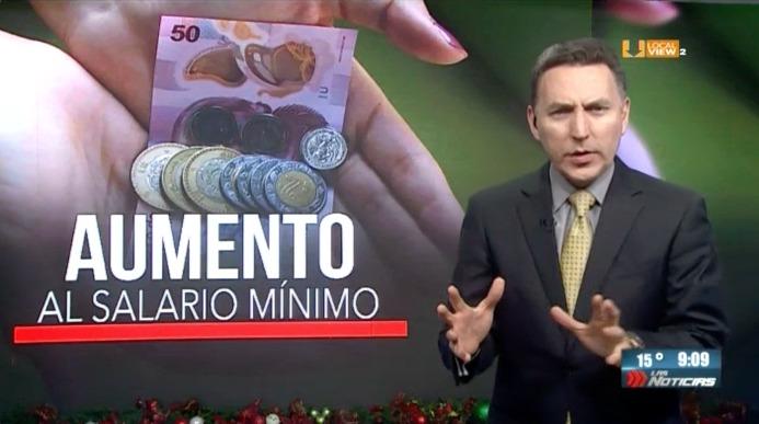 Diversas opiniones tras el anuncio del aumento al salario mínimo
