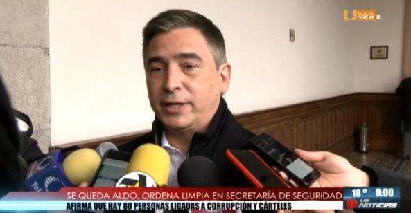 Aldo Fasci ordena limpia en la Secretaría de Seguridad Pública de Nuevo León