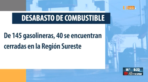 El desabasto de gasolina sigue afectando a 10 estados del país. El reporte desde Coahuila, Tamaulipas y Jalisco