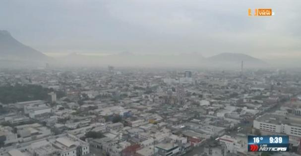 De mal en peor la contaminación en Monterrey