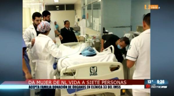 Un caso de donación de órganos da vida a siete personas