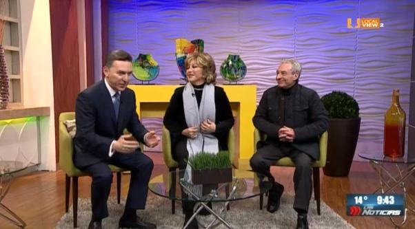 #Entrevista. Siempre un gusto platicar con Angélica María y César Costa