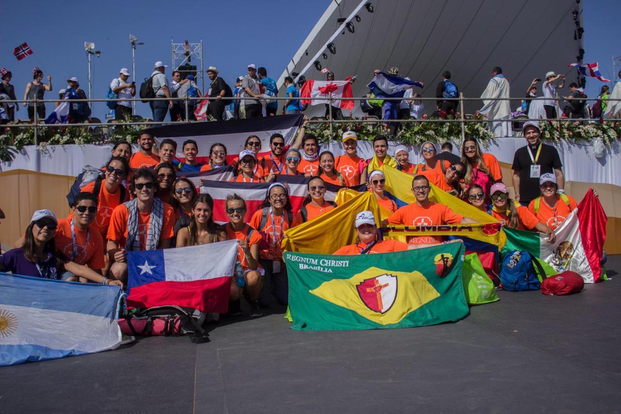 Asisten 12 mil mexicanos a la Jornada Mundial de la Juventud Panamá 2019