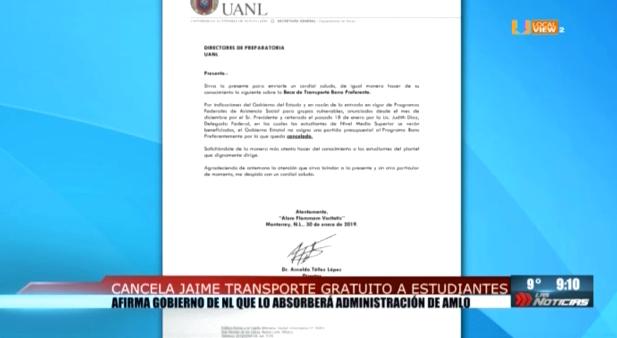 Presionan transportistas. Eliminarán transferencias gratuitas a partir del 15 de febrero. #NoAlTatifazo