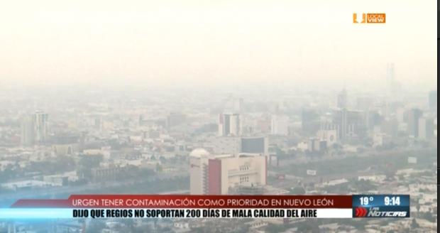 Autoridades federales advierten que la contaminación en NL es severa