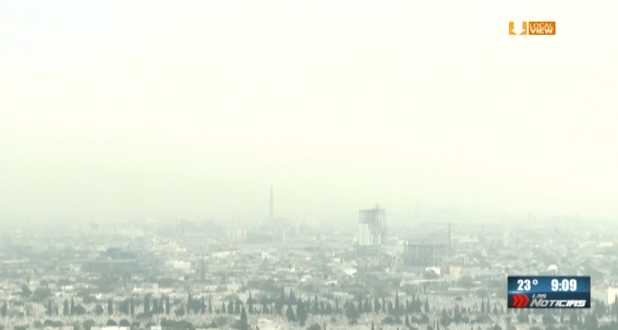 De mal en peor la calidad de aire en la zona metropolitana de Monterrey