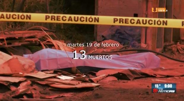 La estadística diaria de homicidios en Nuevo León ya es de doble dígito