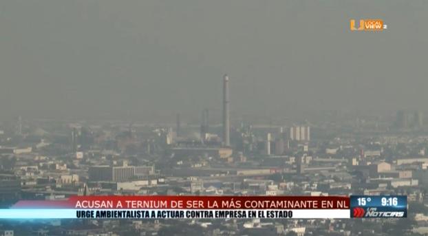 Ternium, una de las empresas más contaminantes en la zona metropolitana de Monterrey