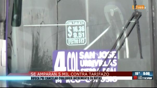 Ola de amparos contra el #TarifazoNL