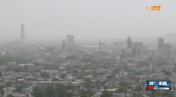 Lo que el viento nos dejó en la zona metropolitana de Monterrey... La mala calidad del aire