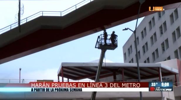 Posponen las pruebas en la línea 3 del metro de Monterrey