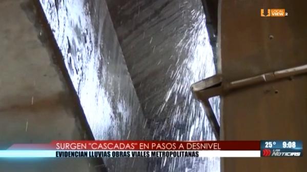 Unas cuantas horas de lluvia provocan caos en la zona metropolitana de Monterrey