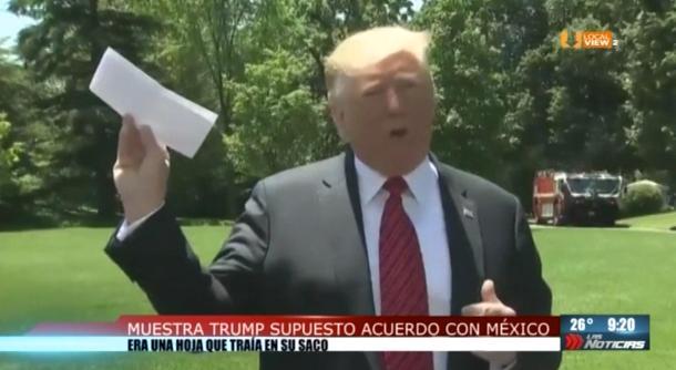 ¿Cuál acuerdo secreto, Mr. Trump?