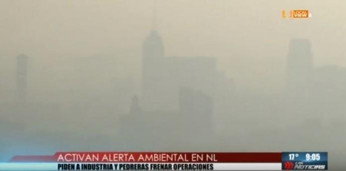 Otra vez alerta ambiental en la zona metropolitana de Monterrey. ¿Y de qué sirve?