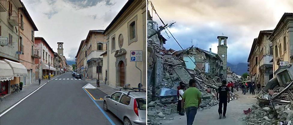 Terremoto en Italia-Gregorio Martínez.