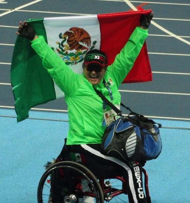 María de los Ángeles Ortiz, Juegos Paralímpicos Río 2016- Gregorio Martínez.