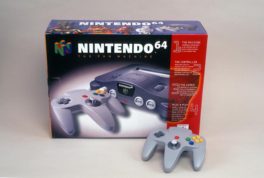 Consola de Nintendo 3- Gregorio Martínez.