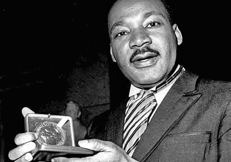 Martin Luther King Friedensnobelpreis